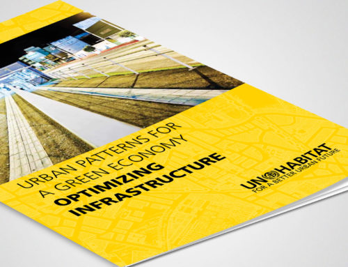 UN Habitat's Optimizing infrastructure publication